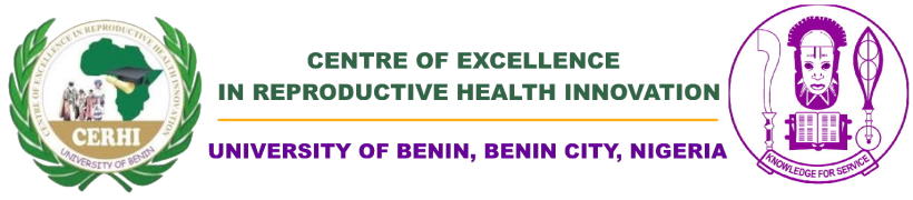 Centre of Excellence in Reproductive Health Innovation Logo